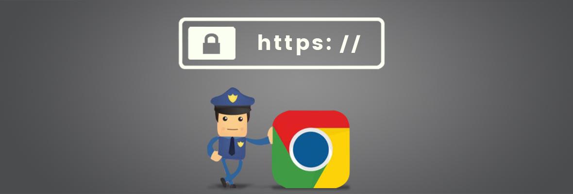 Google浏览器发布关于https的最后警告