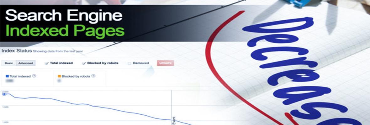 网站页面收录量下降的5种原因