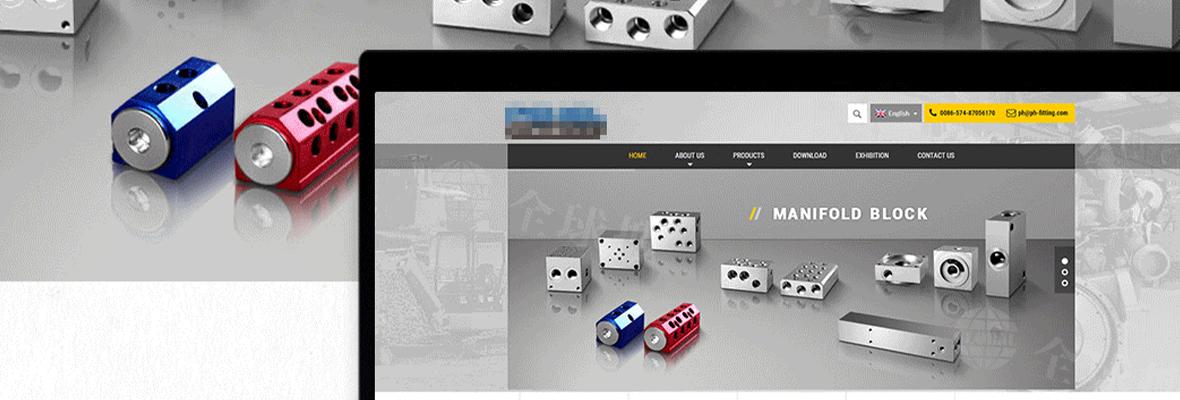 全球搜外贸营销型网站赏析-机械设备